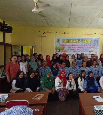 Bimbingan Teknis Pengembangan Kurikulum, Bahan Ajar dan Model Pembelajaran Taman Kanak-kanak Bidang PAUDM Kabupaten Kapuas Hulu Tahun 2019
