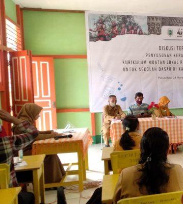 Diskusi Terarah Penyusunan Kerangka Dasar Kurikulum Muatan Lokal Pendidikan Lingkungan untuk Sekolah Dasar di Kabupaten Kapuas Hulu